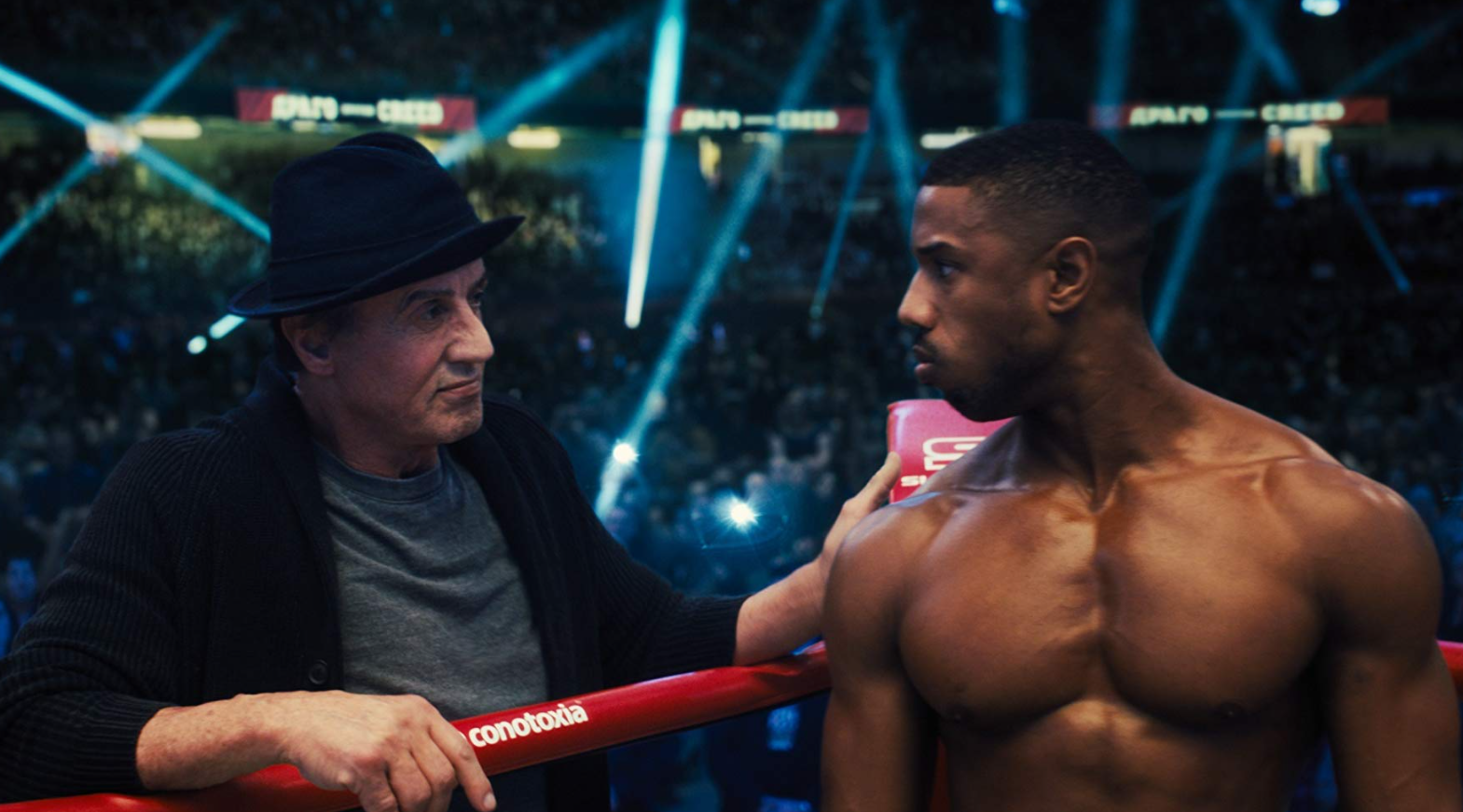 Sylvester Stallone Rocky Creed 3