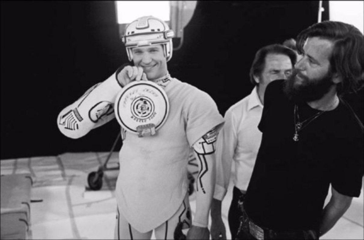 Jeff Bridges Tron 1982 Behind the Scenes