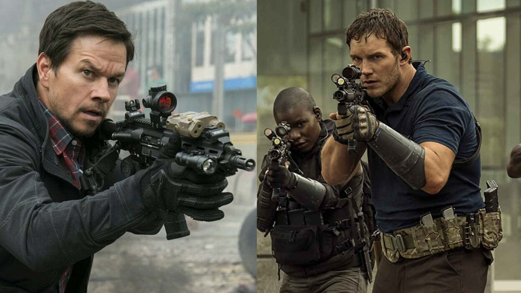 Pratt vs Wahlberg Streaming War