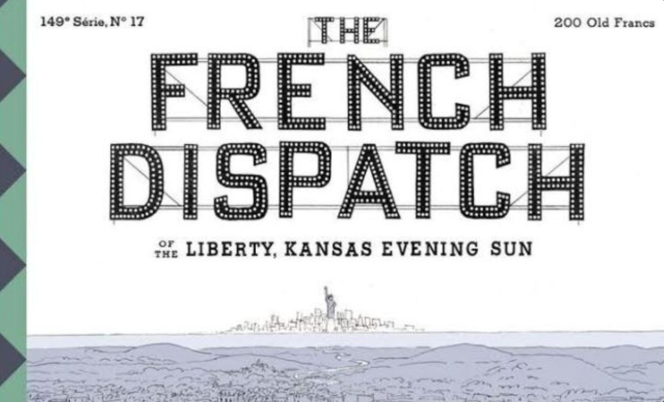 Wes Anderson French Dispatch Poster Crop