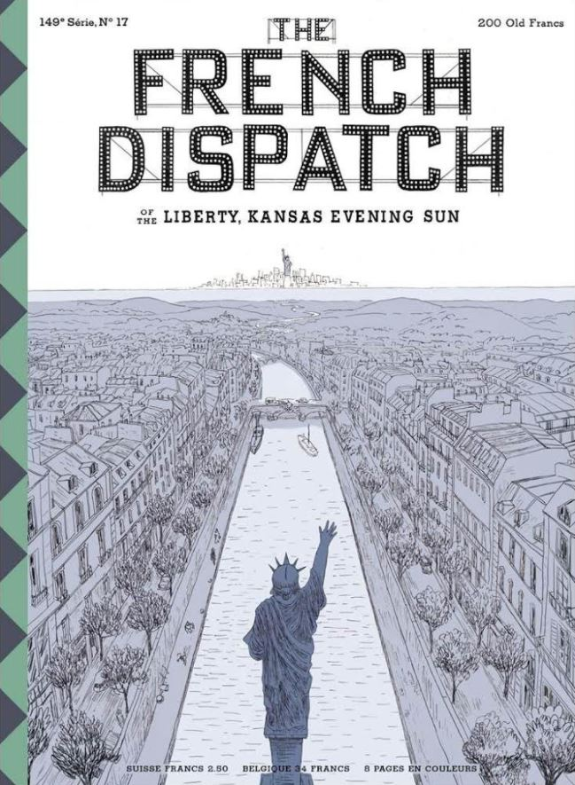 Wes Anderson French Dispatch Poster