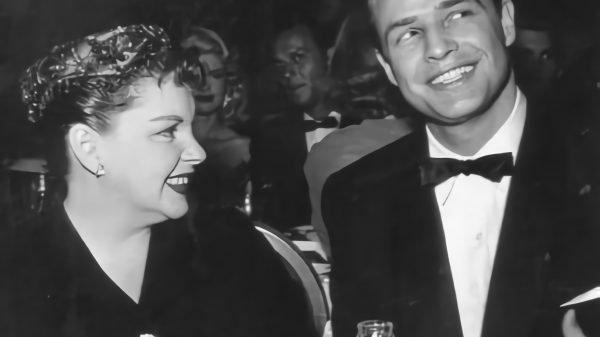 Judy Garland Marlon Brando Golden Globes 1955