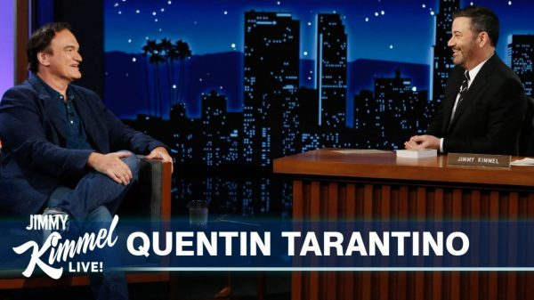 Quentin Tarantino Jimmy Kimmel Live