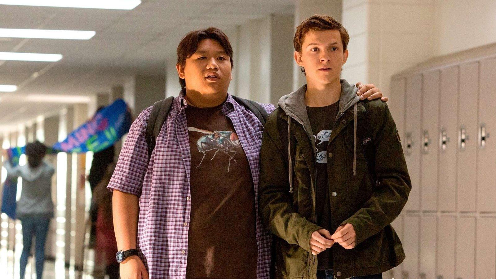 Spider Man Tom Holland and Jacob Batalon Bromance