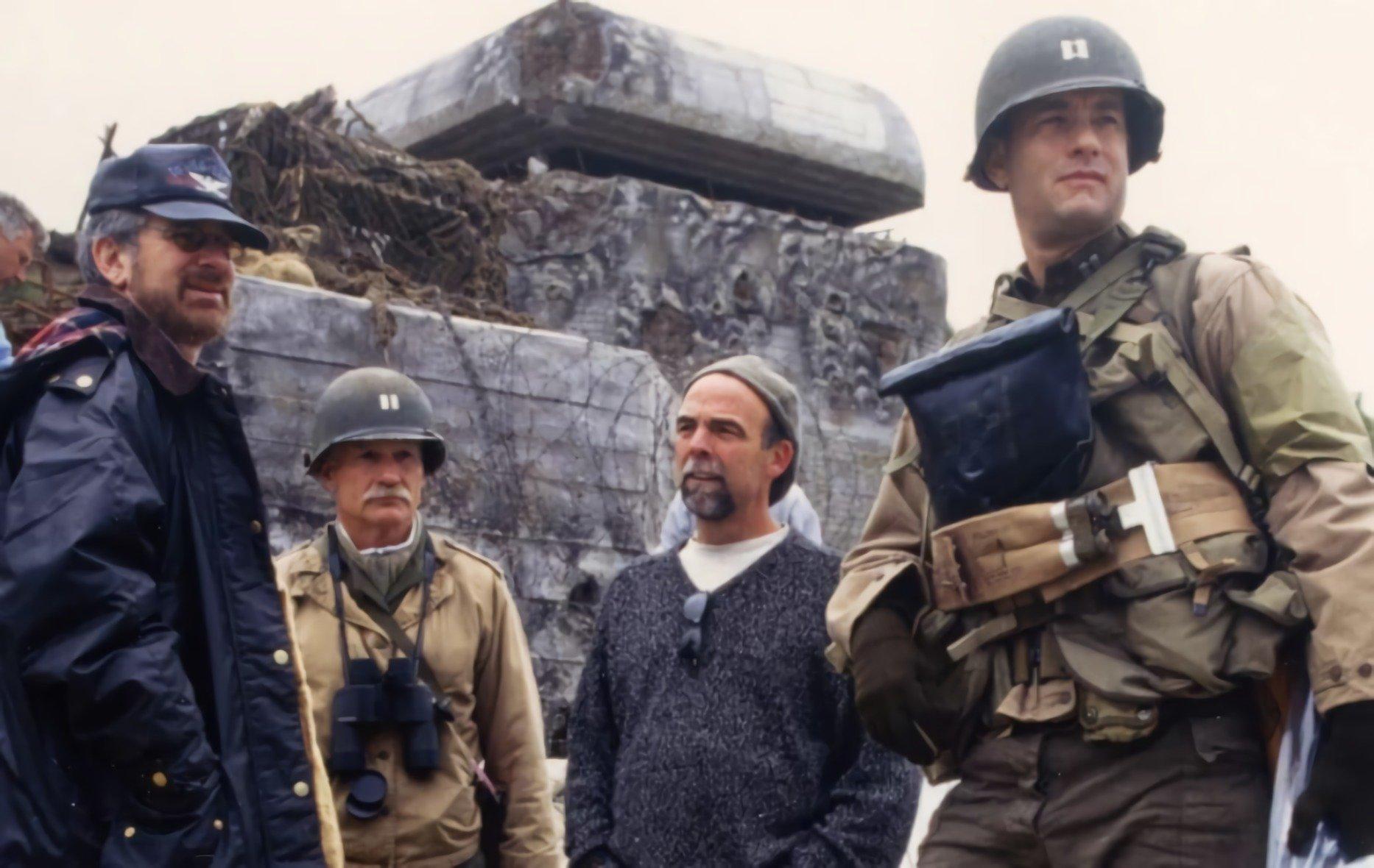 Spielberg Hanks D-Day Omaha Beach