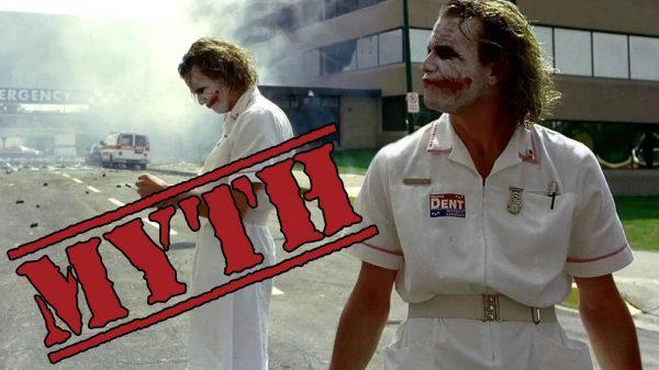 Heath Ledger Dark Knight Improvisation Myth