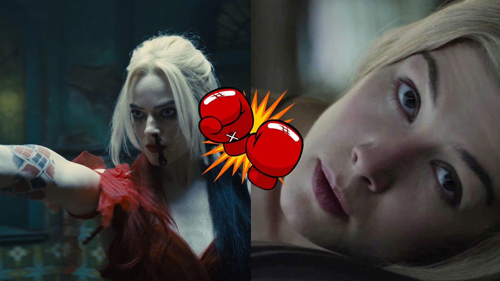 Film Fight Harley Quinn vs Gone Girl