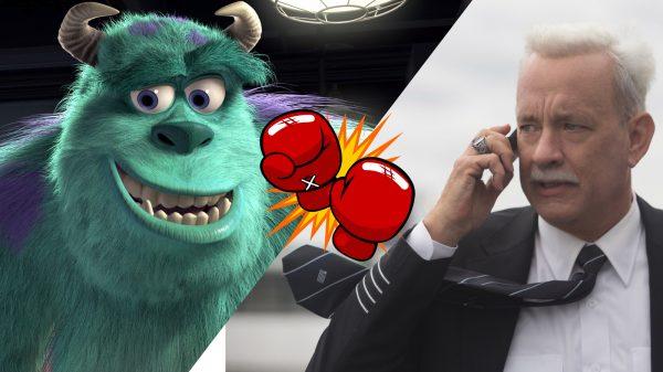 Film Fight Monsters Inc Sulley vs Tom Hanks Sully