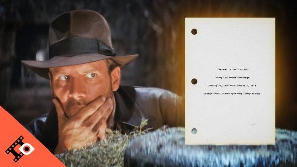 Indiana Jones Lucas Spielberg Transcript
