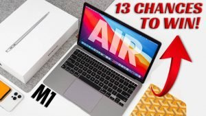 Let's Get Nuts: Metaflix is Giving Away a FREE MACBOOK AIR M1