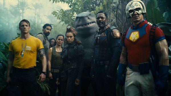 The Suicide Squad Idris Elba and David Dastmalchian Photo