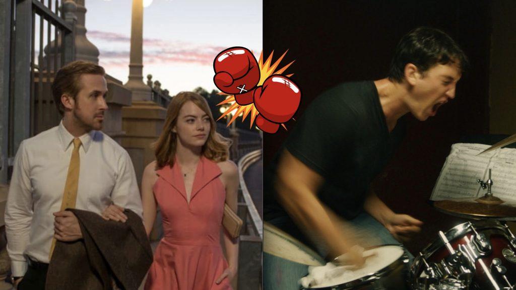 Whiplash versus La La Land to determine Damien Chazelles best musical drama
