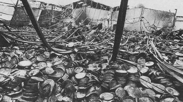 1937 Fox Vault Fire
