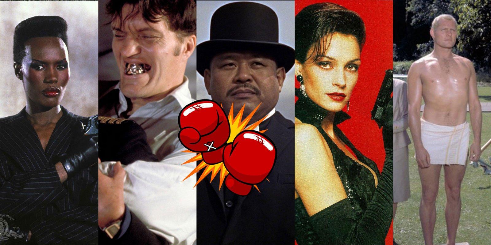 Goofy Bond Henchmen Film Fight