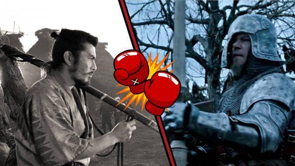 Film Fight Samurai Versus Knight